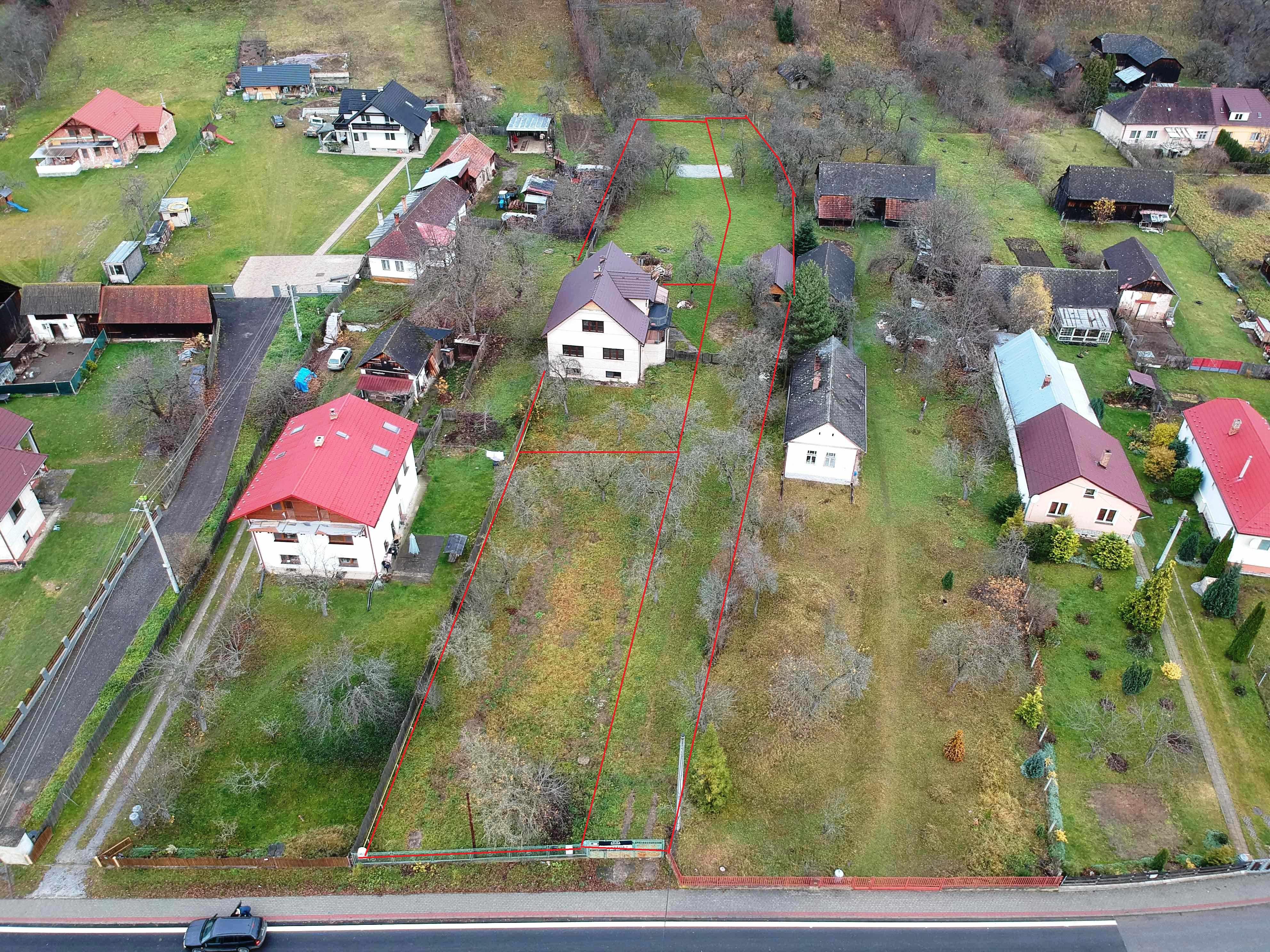 .:PREDANÉ:.Rodinný dom+2x stavebný pozemok Brezovica, okres Sabinov