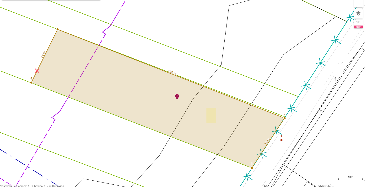 .:REZERVOVANE:. Pozemok 2400m2, Dubovica, okres Sabinov